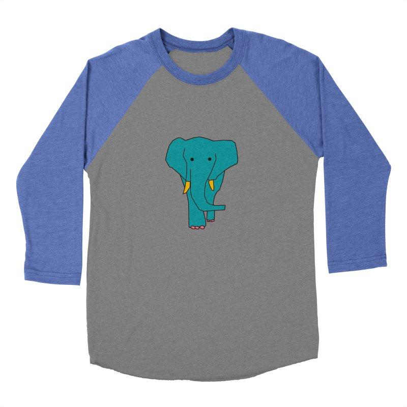 Elephant Women's Baseball Triblend Longsleeve T-Shirt by the lady ernest ember's Artist Shop