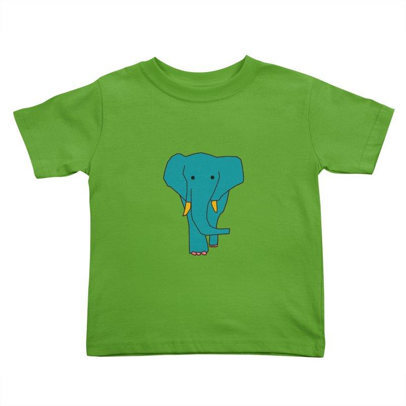 Elephant Kids Toddler T-Shirt by theladyernestember's Artist Shop