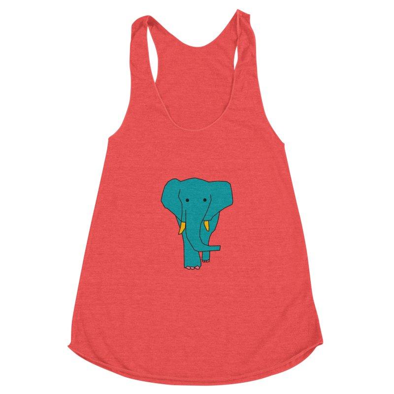 Elephant Women's Tank by theladyernestember's Artist Shop