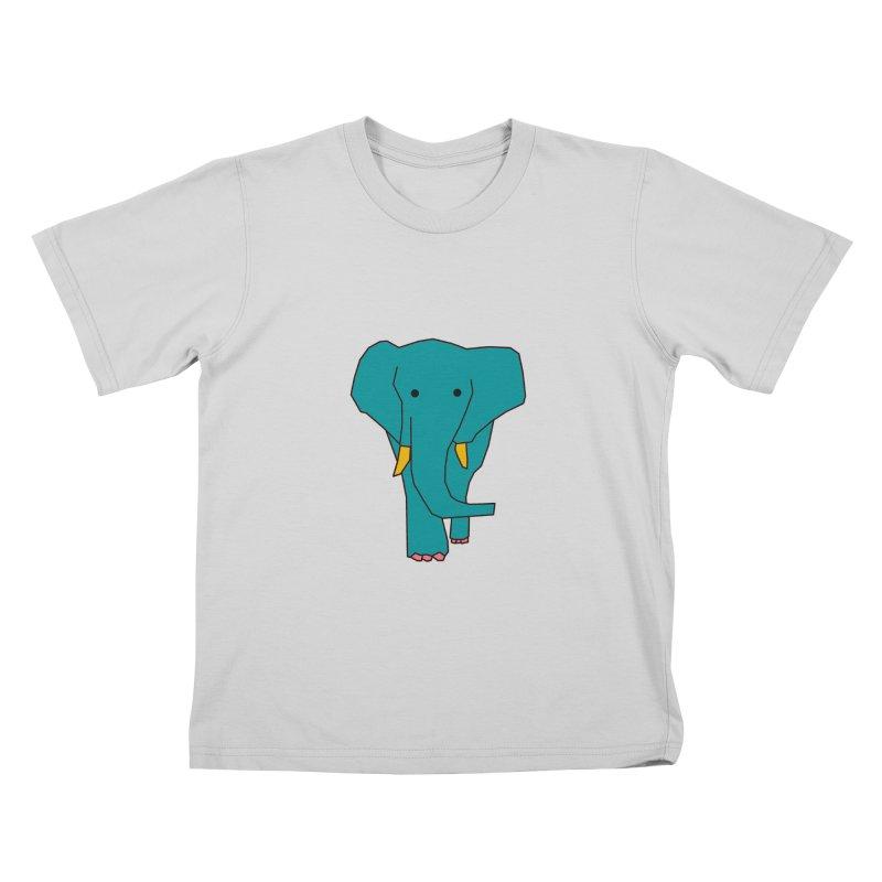 Elephant Kids T-Shirt by theladyernestember's Artist Shop