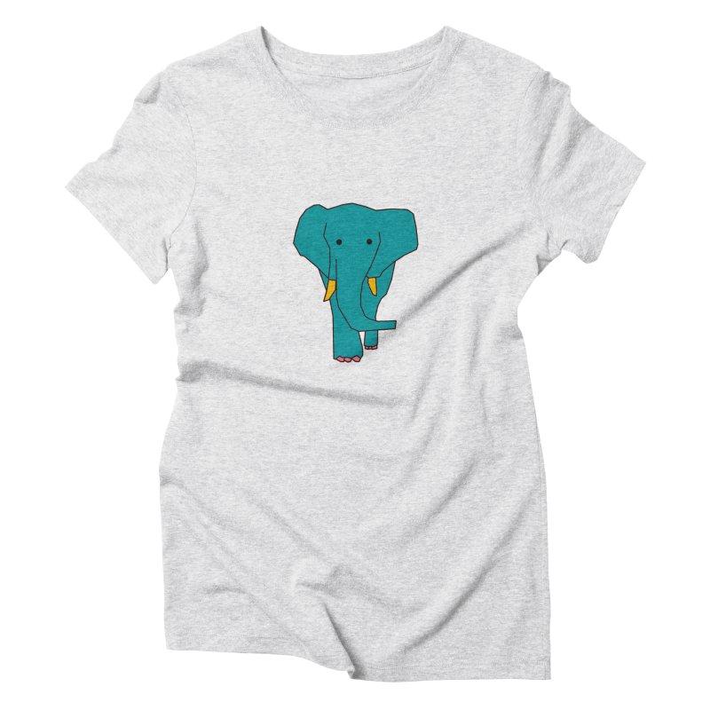 Elephant Women's T-Shirt by theladyernestember's Artist Shop