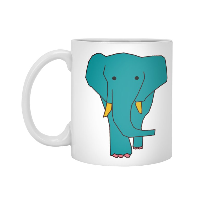 Elephant Accessories Mug by theladyernestember's Artist Shop