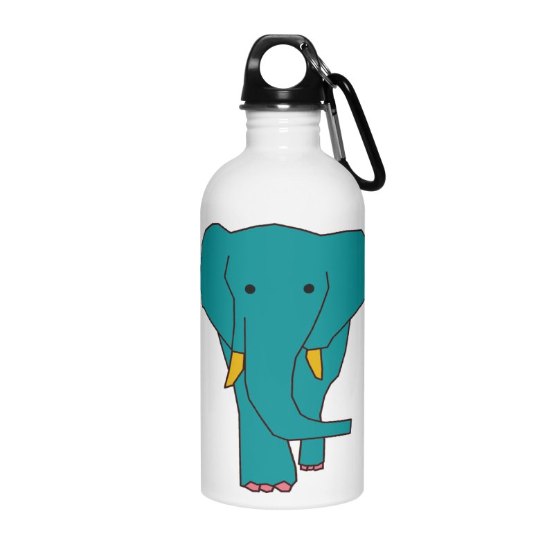 Elephant Accessories Water Bottle by the lady ernest ember's Artist Shop