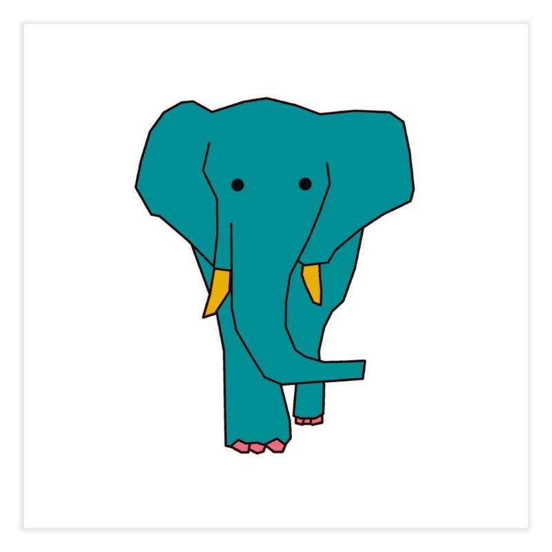 Elephant Home Fine Art Print by theladyernestember's Artist Shop