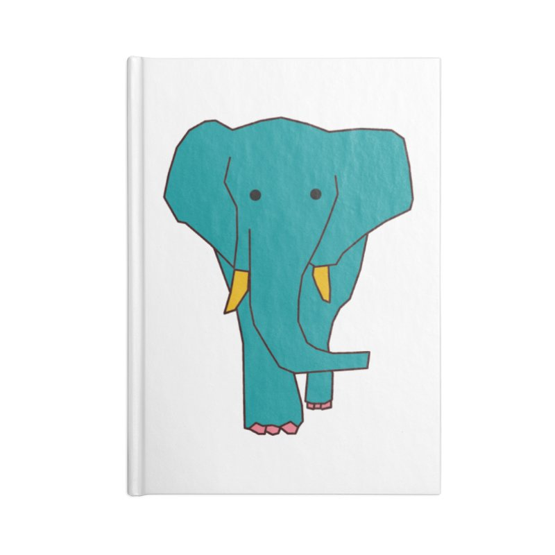 Elephant Accessories Blank Journal Notebook by theladyernestember's Artist Shop
