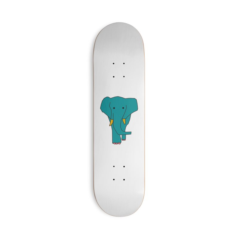 Elephant Accessories Skateboard by theladyernestember's Artist Shop