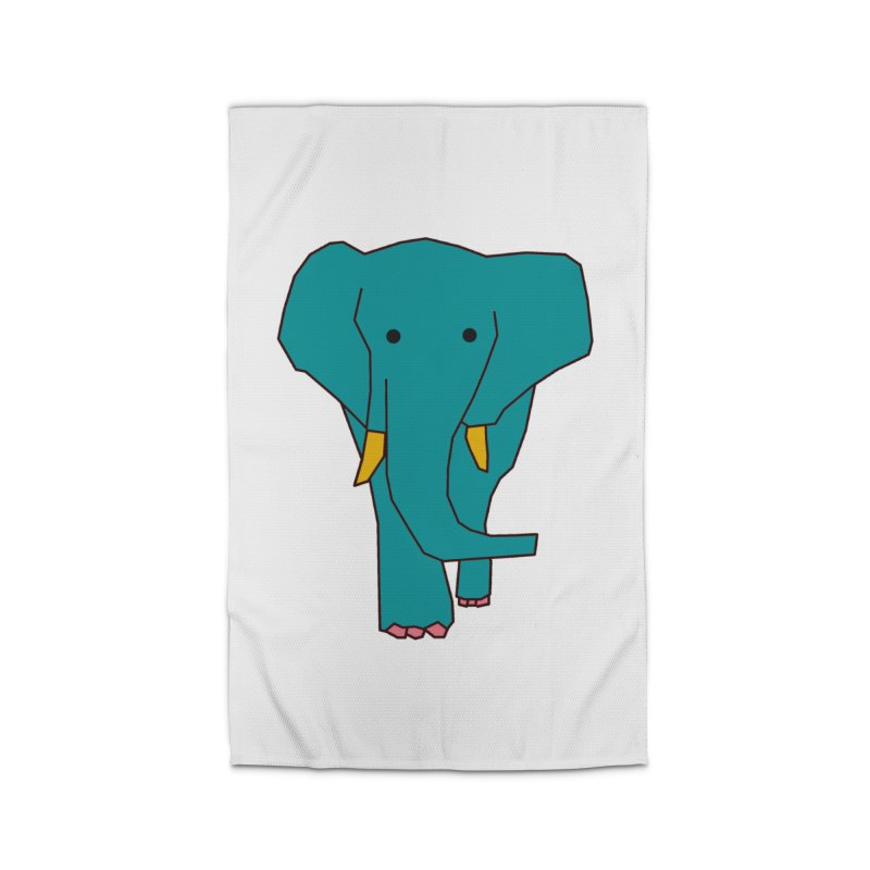 Elephant Home Rug by theladyernestember's Artist Shop