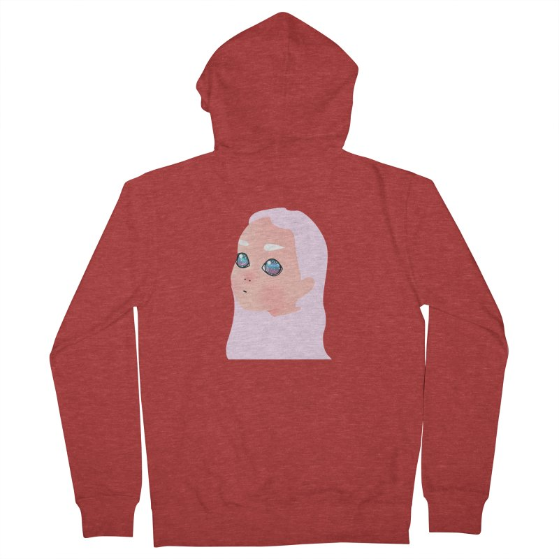 Lady Women's French Terry Zip-Up Hoody by theladyernestember's Artist Shop