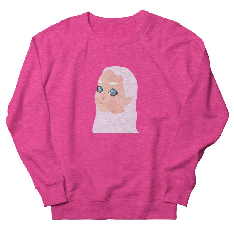 Lady Women's French Terry Sweatshirt by theladyernestember's Artist Shop
