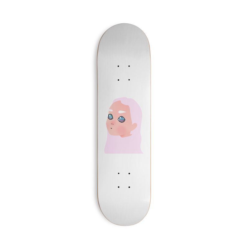 Lady Accessories Skateboard by theladyernestember's Artist Shop