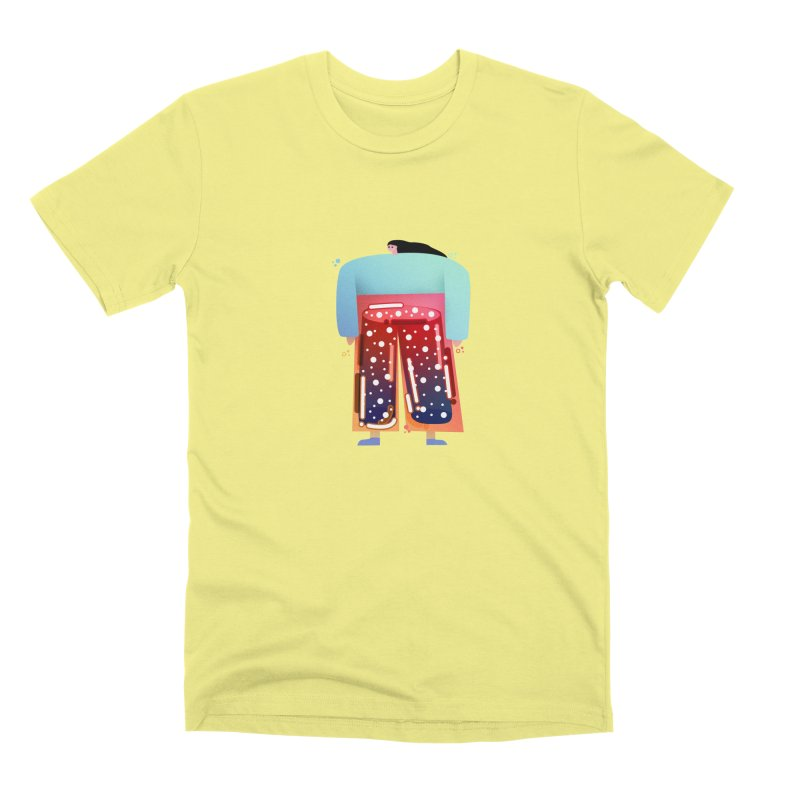 Lady Men's Premium T-Shirt by theladyernestember's Artist Shop