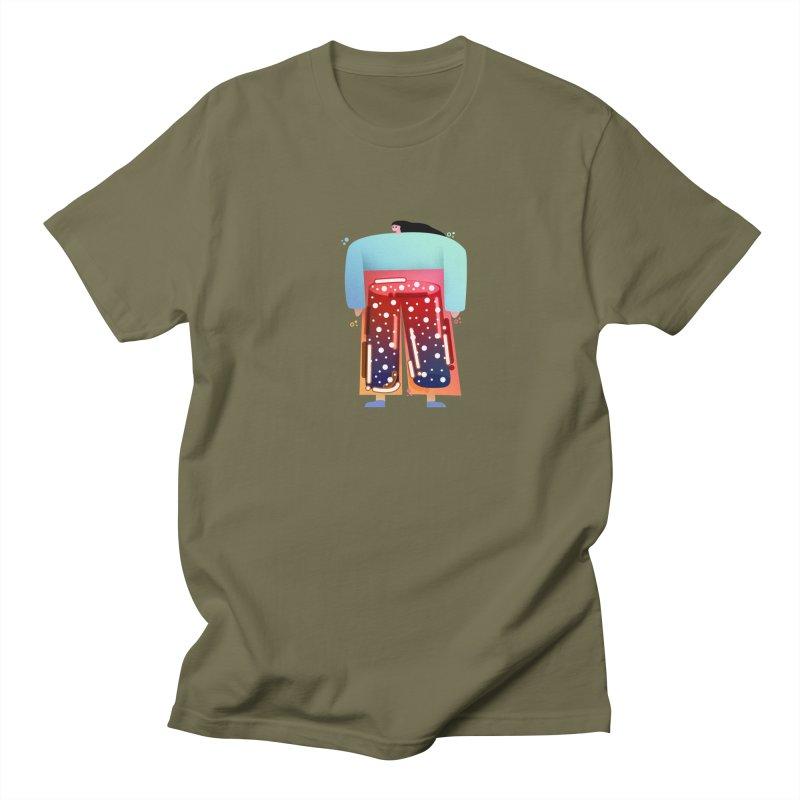 Lady Men's Regular T-Shirt by theladyernestember's Artist Shop