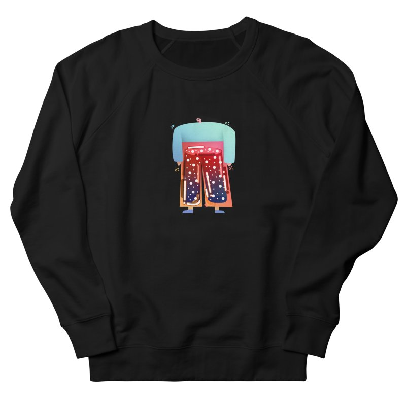 Lady Men's French Terry Sweatshirt by theladyernestember's Artist Shop