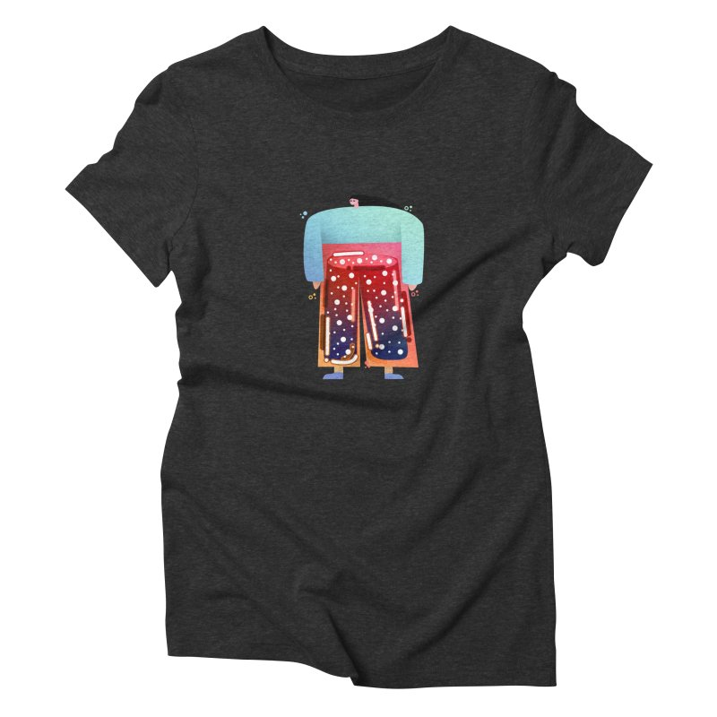 Lady Women's Triblend T-Shirt by theladyernestember's Artist Shop