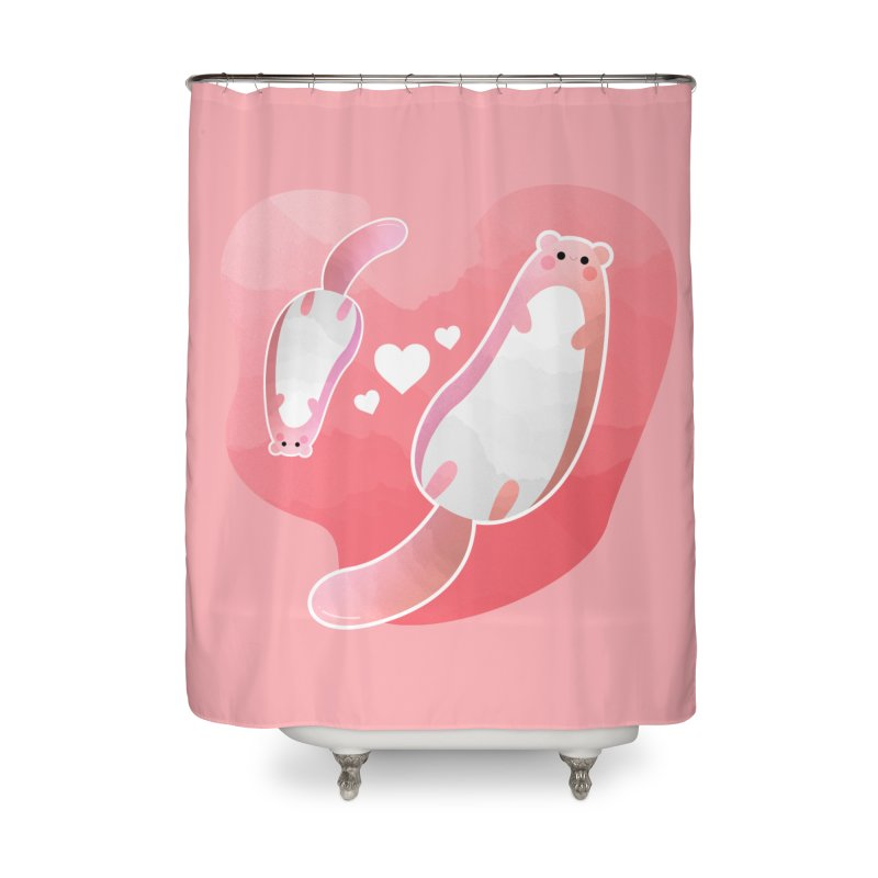 Happy Mother's Day Home Shower Curtain by theladyernestember's Artist Shop