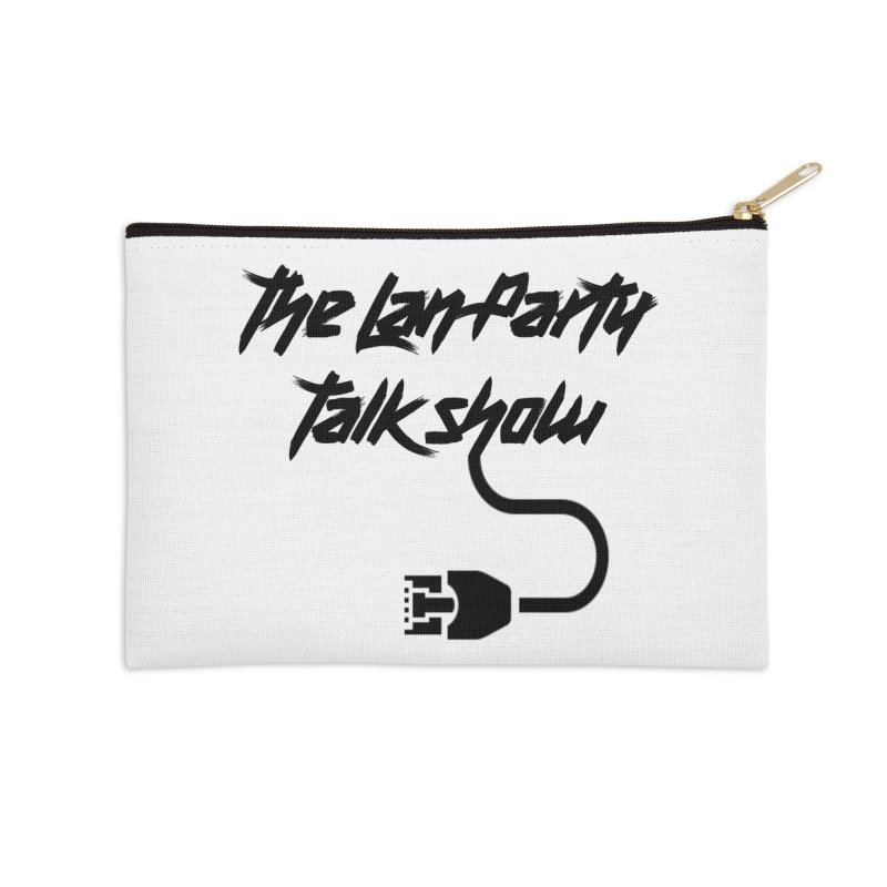 thelanpartyplain Accessories Zip Pouch by The Lan Party Talk Show