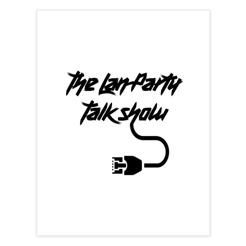 thelanpartyplain Home Fine Art Print by The Lan Party Talk Show