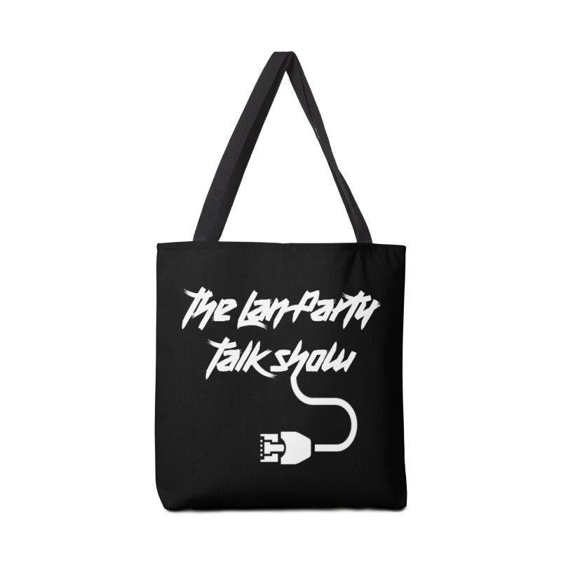 thelanpartyplainwhite Accessories Bag by The Lan Party Talk Show