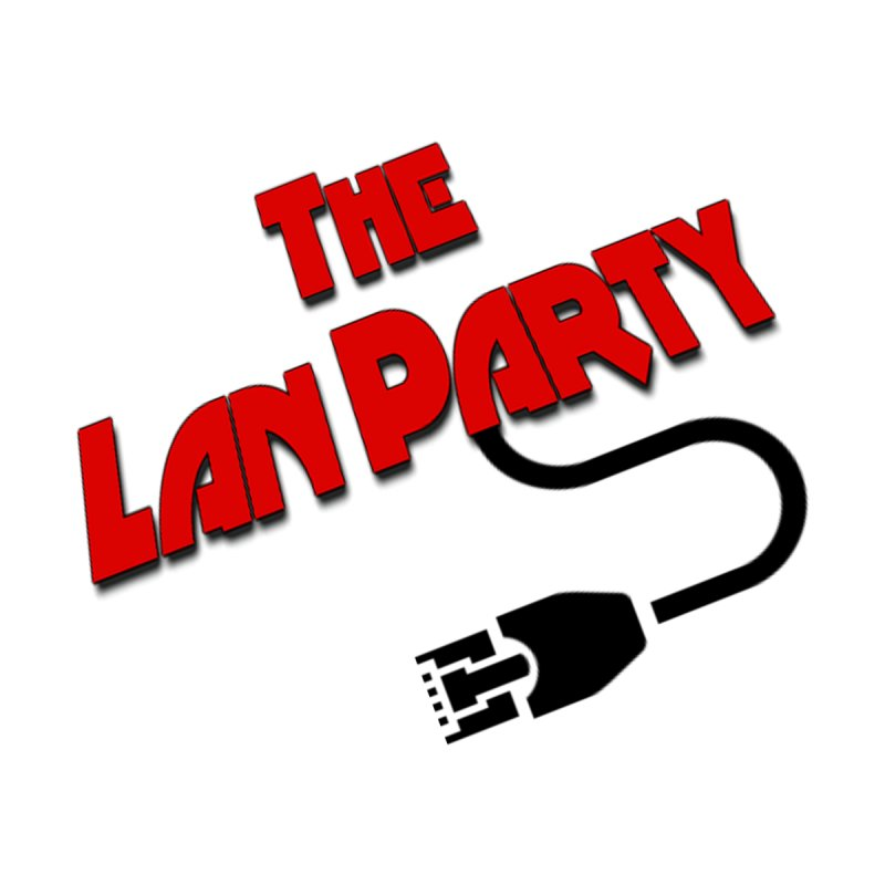 The Lan Party Original logo Home Blanket by The Lan Party Talk Show