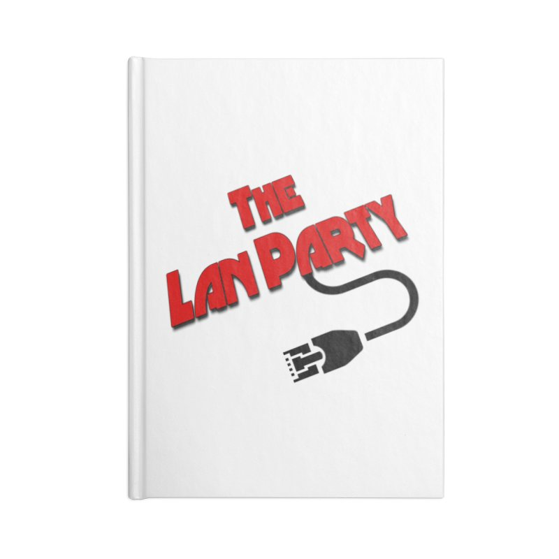 The Lan Party Original logo Accessories Notebook by The Lan Party Talk Show