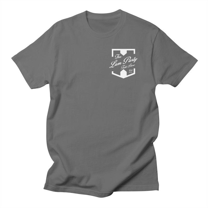 actual pocket spot! Men's T-Shirt by The Lan Party Talk Show