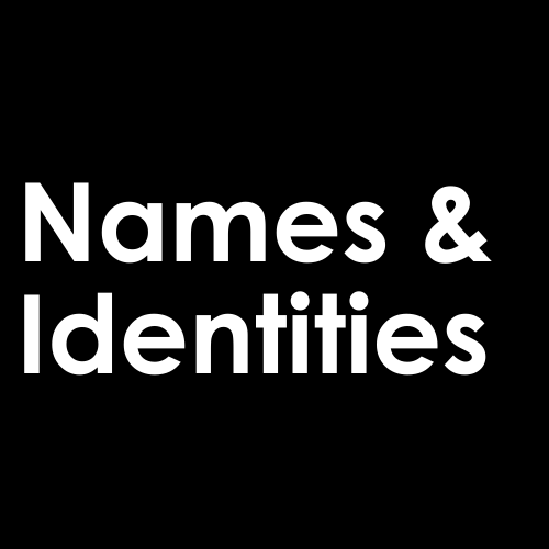 Names-And-Identities