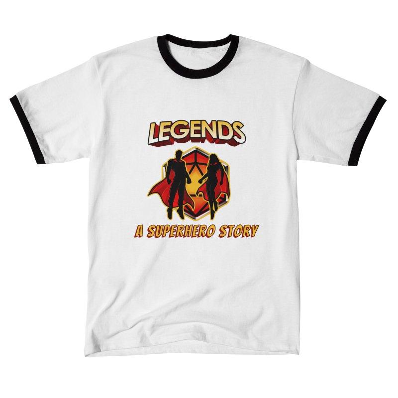 Legends: A Superhero Story Women's T-Shirt by The Legends Casts's Shop