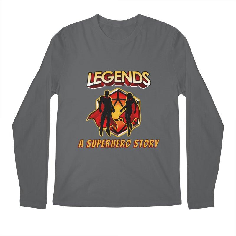 Legends: A Superhero Story Men's Longsleeve T-Shirt by The Legends Casts's Shop
