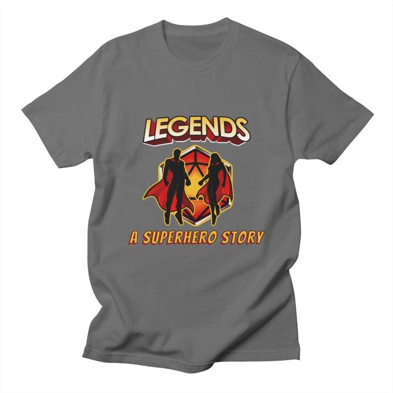 Legends: A Superhero Story Men's T-Shirt by The Legends Casts's Shop