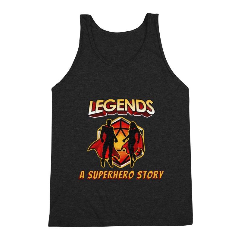 Legends: A Superhero Story Men's Tank by The Legends Casts's Shop