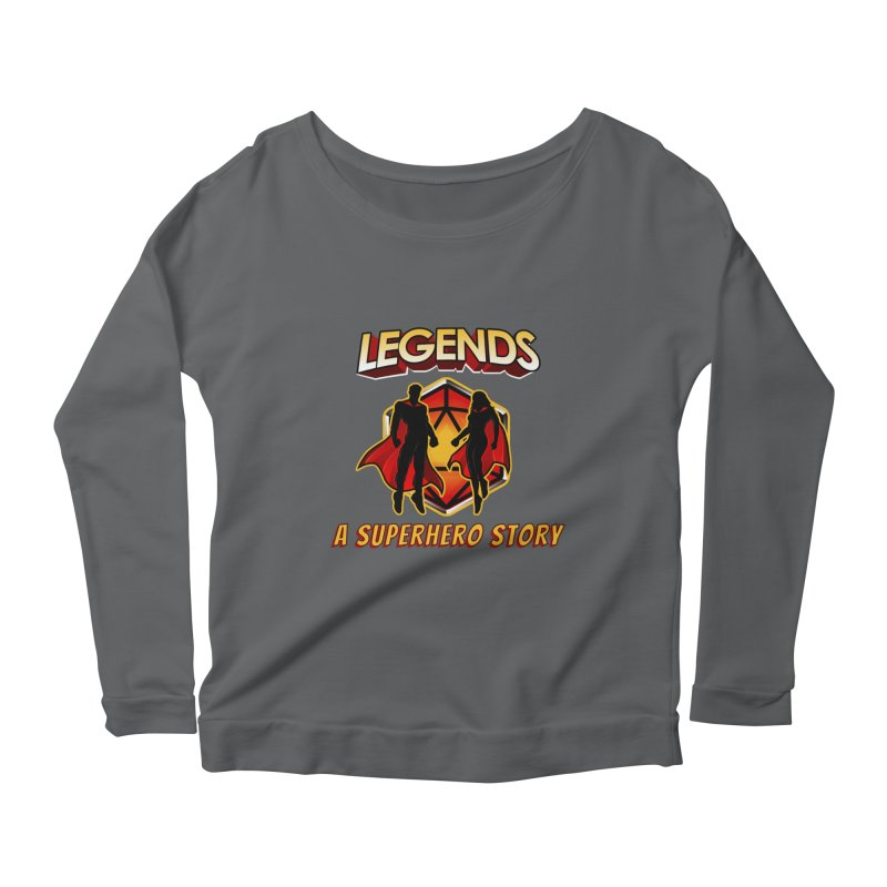 Legends: A Superhero Story Women's Longsleeve T-Shirt by The Legends Casts's Shop