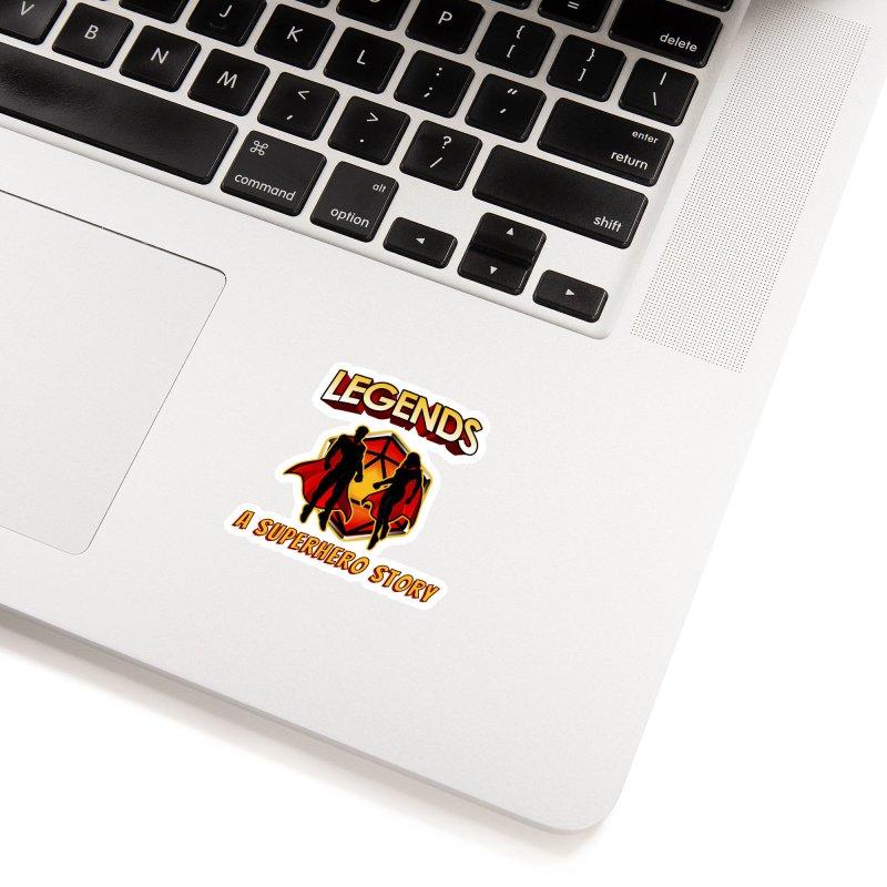 Legends: A Superhero Story Accessories Sticker by The Legends Casts's Shop