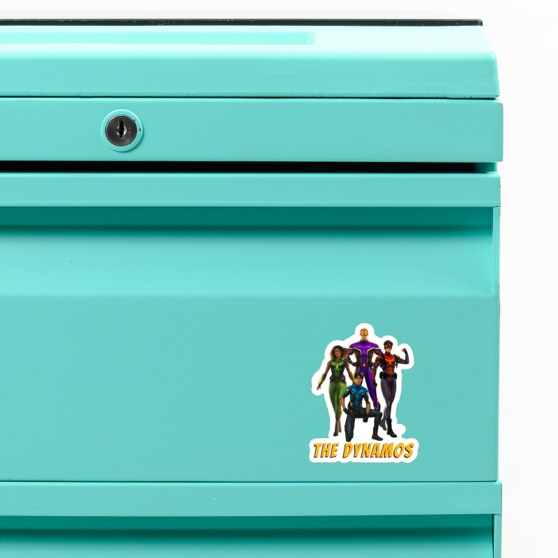 The Dynamos Accessories Magnet by The Legends Casts's Shop