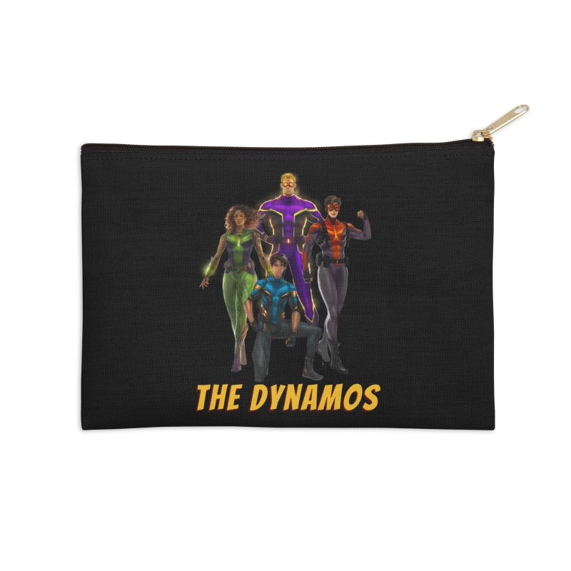 The Dynamos Accessories Zip Pouch by The Legends Casts's Shop