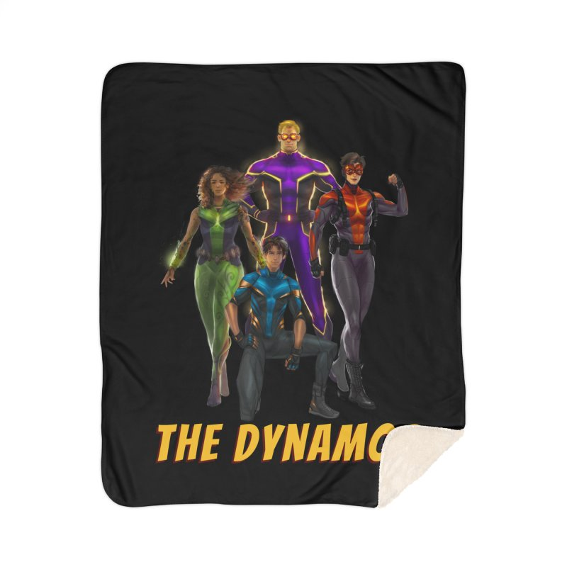 The Dynamos Home Blanket by The Legends Casts's Shop
