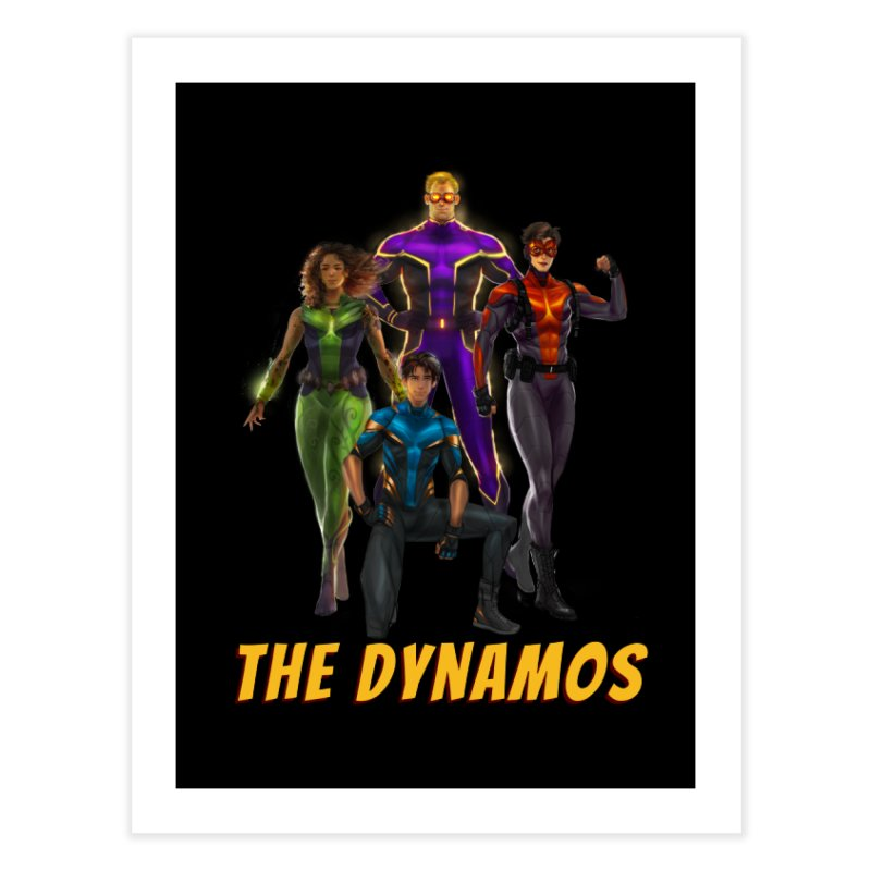 The Dynamos Home Fine Art Print by The Legends Casts's Shop