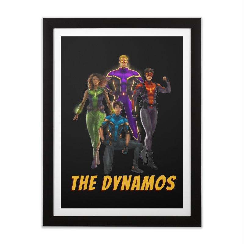 The Dynamos Home Framed Fine Art Print by The Legends Casts's Shop