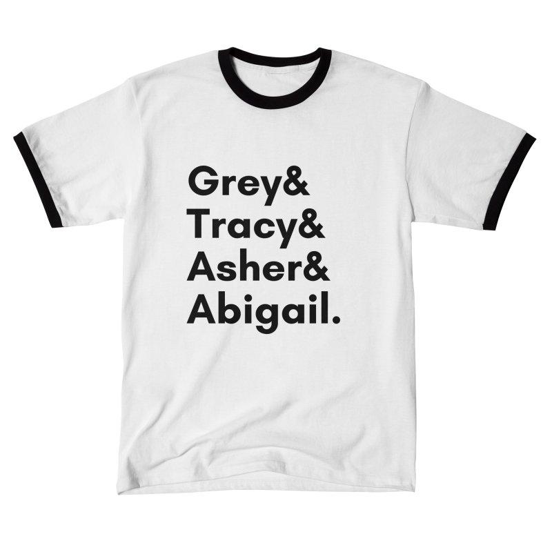 Secret Identities (Black) Women's T-Shirt by The Legends Casts's Shop
