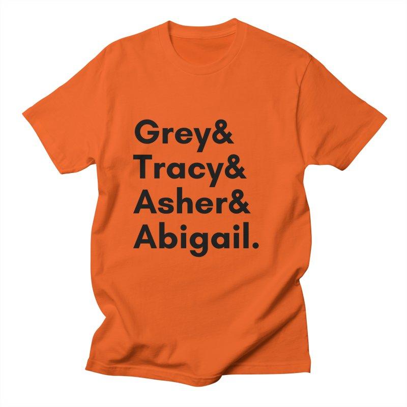 Secret Identities (Black) Men's T-Shirt by The Legends Casts's Shop