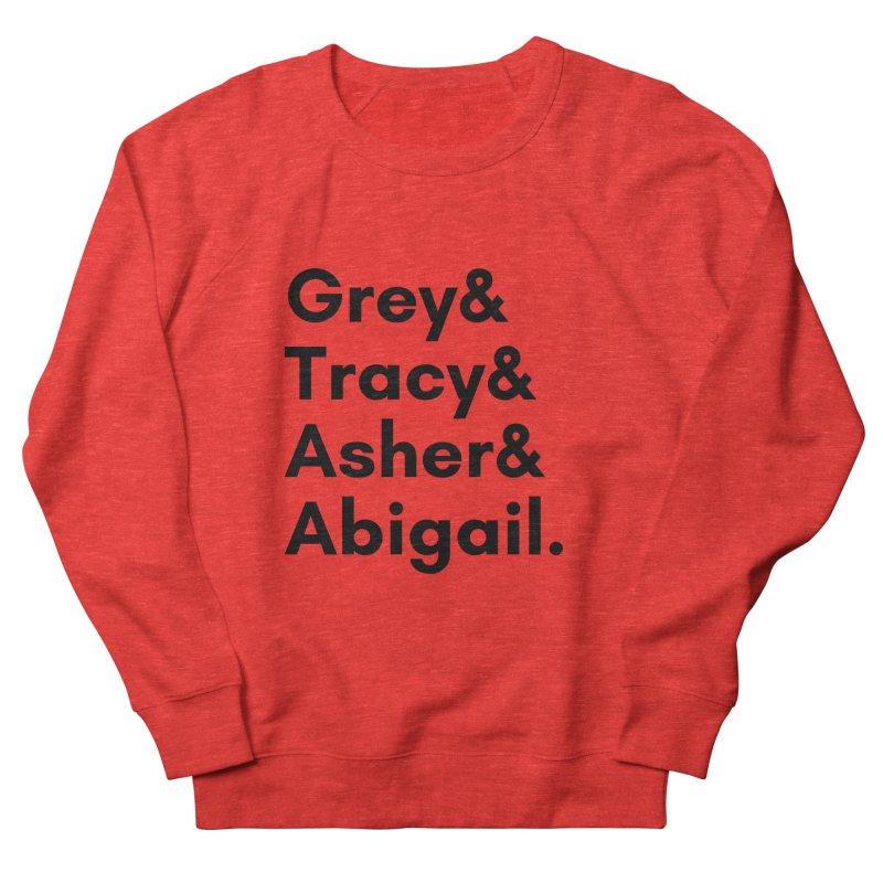 Secret Identities (Black) Women's Sweatshirt by The Legends Casts's Shop