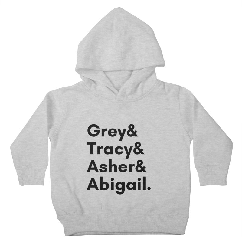 Secret Identities (Black) Kids Toddler Pullover Hoody by The Legends Casts's Shop