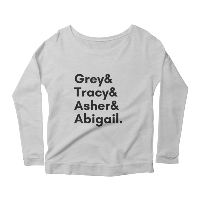 Secret Identities (Black) Women's Longsleeve T-Shirt by The Legends Casts's Shop