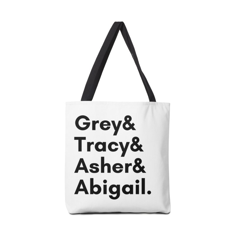 Secret Identities (Black) Accessories Bag by The Legends Casts's Shop