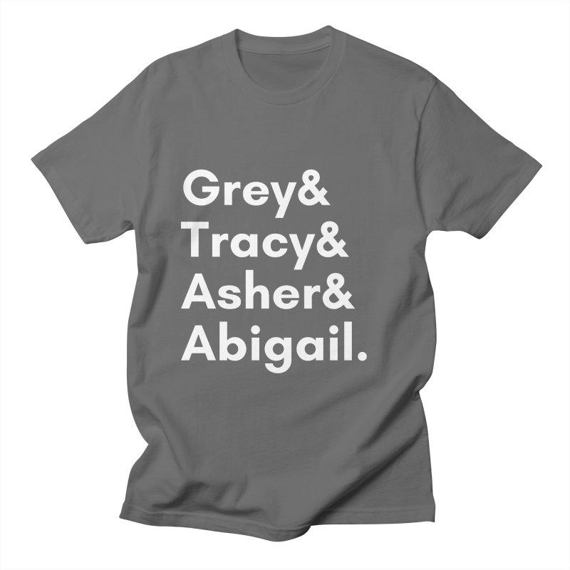 Secret Identities (White) Women's T-Shirt by The Legends Casts's Shop
