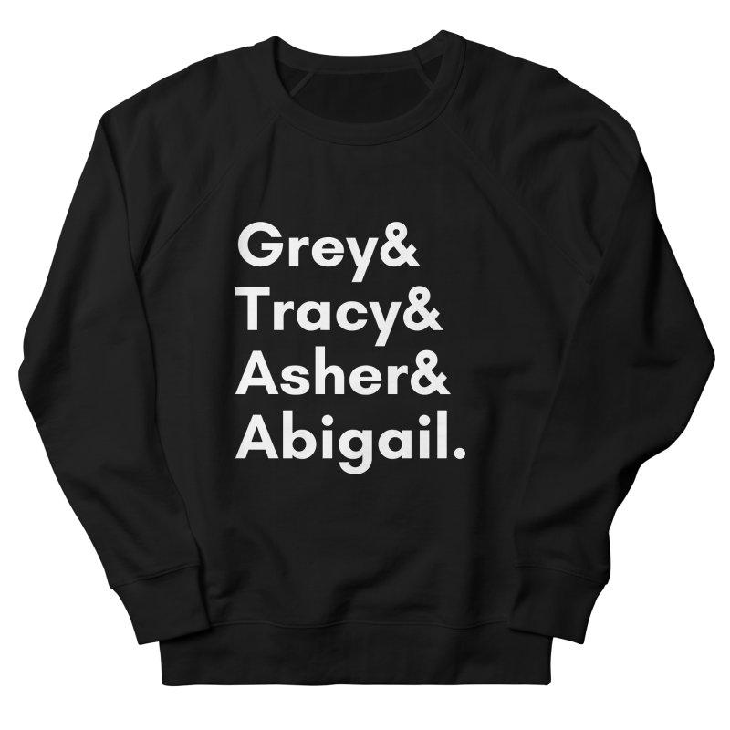Secret Identities (White) Men's Sweatshirt by The Legends Casts's Shop