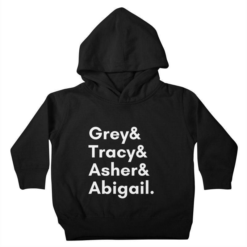 Secret Identities (White) Kids Toddler Pullover Hoody by The Legends Casts's Shop