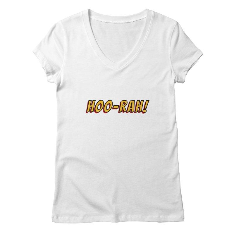 HOO-RAH! Women's V-Neck by The Legends Casts's Shop