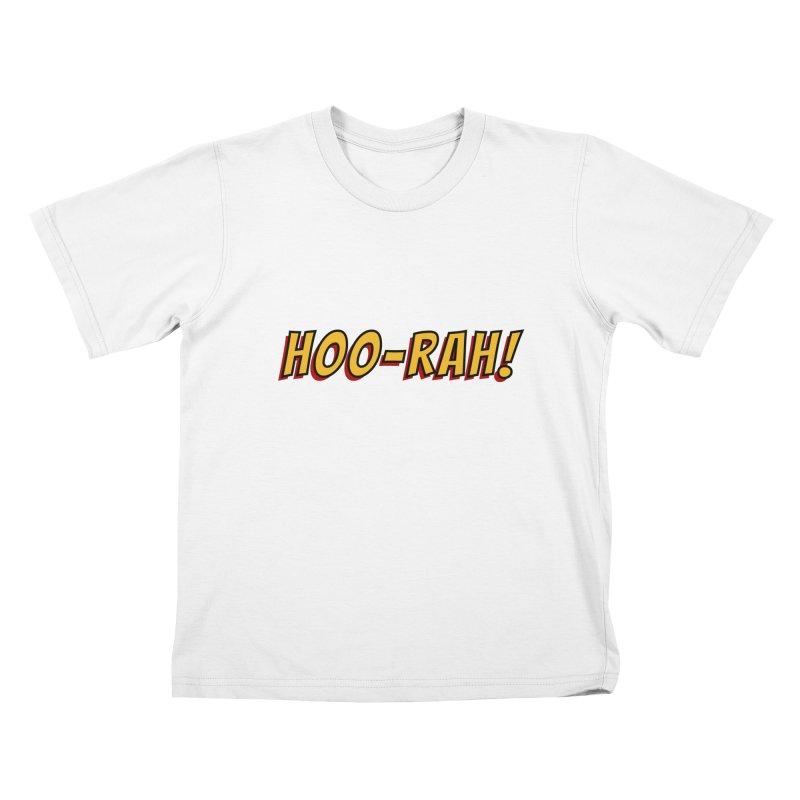 HOO-RAH! Kids T-Shirt by The Legends Casts's Shop