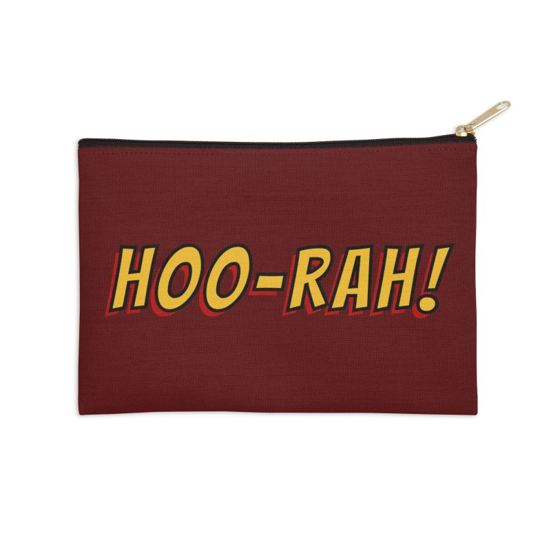HOO-RAH! Accessories Zip Pouch by The Legends Casts's Shop