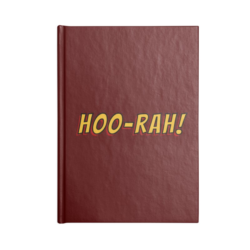 HOO-RAH! Accessories Notebook by The Legends Casts's Shop